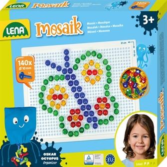 Image of Lena Mosaic Perlesæt 140 Stk 10Mm