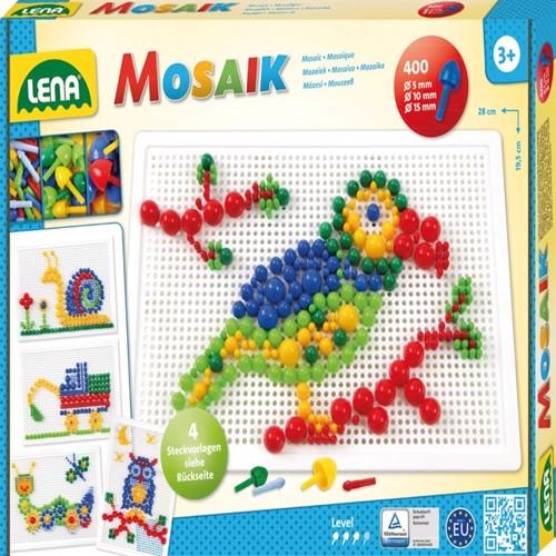 Image of Lena Mosaic Perlesæt Mix Pakke 400 (4006942862603)