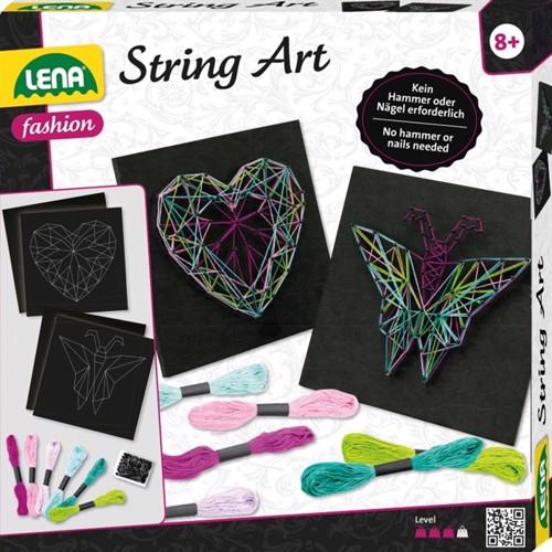 Image of Lena Stringart Butterfly Heart (4006942862009)