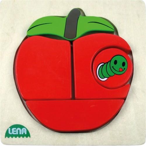 Image of Lena træ puslespil æble (4006942704903)