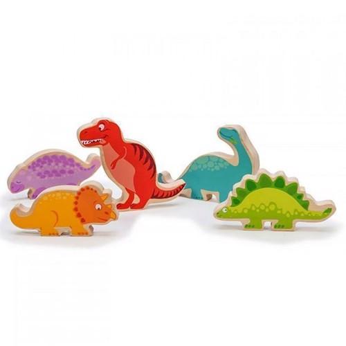 Image of Le Toy Van dinosaur i træ