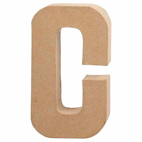 Image of Letter Papier-mach- C (5707167565735)