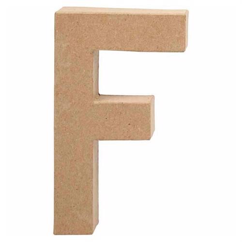 Image of Letter Papier-mache - F (5707167565827)