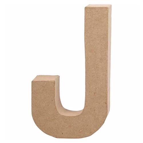 Image of Letter Papier-mache - J (5707167565940)
