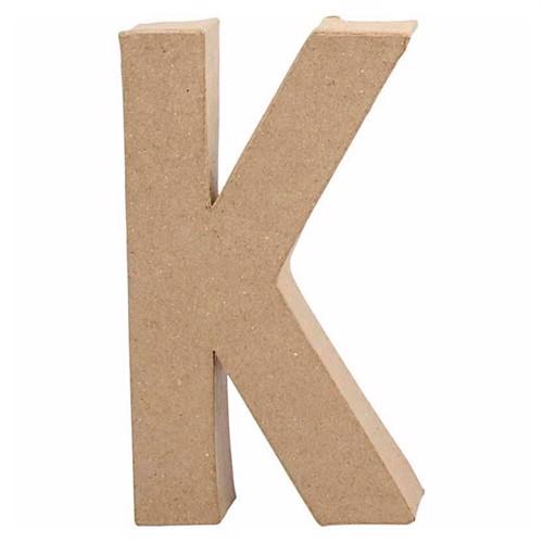 Image of Letter Papier Mache - K. (5707167565971)