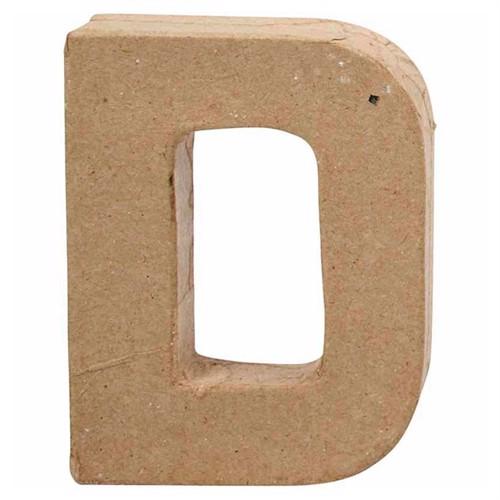 Image of Letter Papier-mache Small - D (5707167566923)