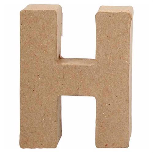 Image of Letter Papier-mache Small - H (5707167567043)