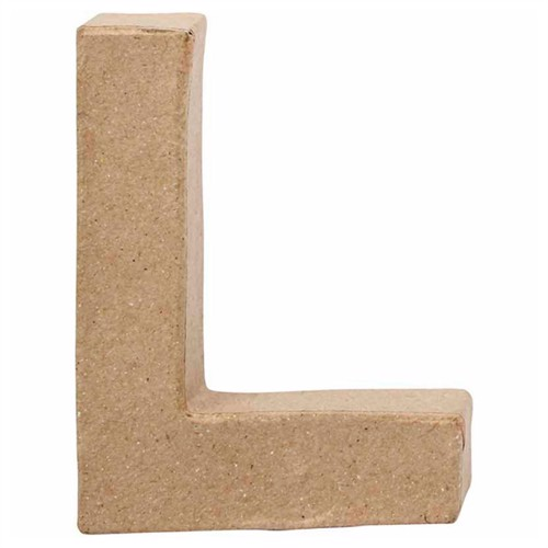 Image of Letter Papier-mache Small - L (5707167567166)