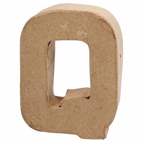 Image of Letter Papier-mache Small - Q (5707167567319)