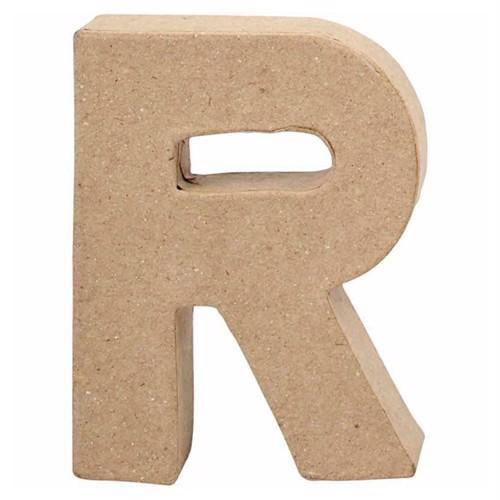 Image of Letter Papier-mache Small - R (5707167567340)