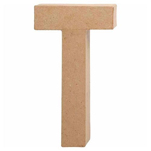 Image of Letter Papier Mache - T (5707167566244)