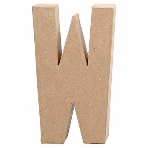 Image of Letter Papier-mache - W (5707167566336)