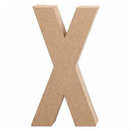 Image of Letter Papier Mache - X (5707167566367)
