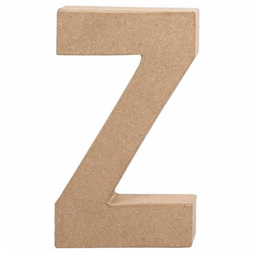 Image of Letter Papier-mache - Z (5707167566428)