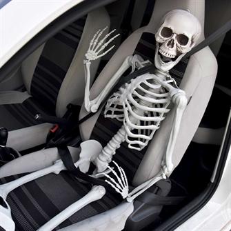 Image of Halloween skelet - 170 cm (04184) (8719481357559)