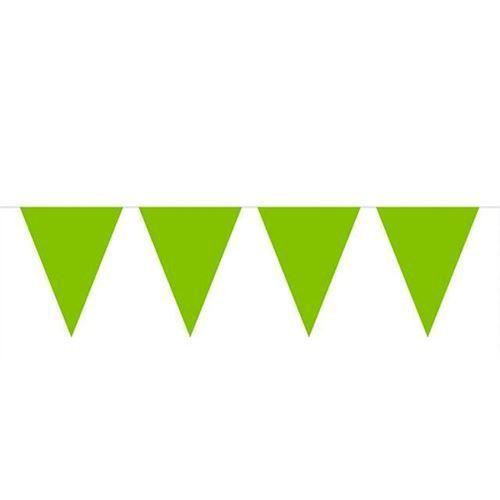 Image of Banner grønne mini flag 3 m