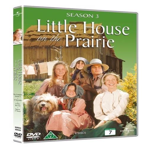 Image of Det Lille Hus P Prærien sæson 3 DVD (5050582844245)