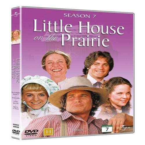 Image of Det Lille Hus P Prærien sæson 7 DVD (5050582844283)