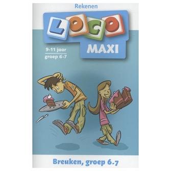 Image of Loco Maxi Count Fractions Group 6-7 (9789001835729)