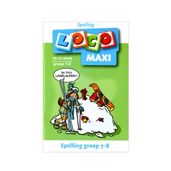 Image of Loco maxi Spelling Group 78 10-12 år (9789001500924)
