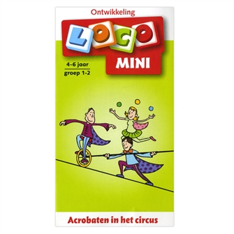 Image of Loco Mini Acrobats in the Circus - Group 1-2 (4-6 years) (9789001835873)