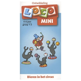 Image of Loco Mini Animals in the circus - Group 1-2 (4-6 years) (9789001835866)
