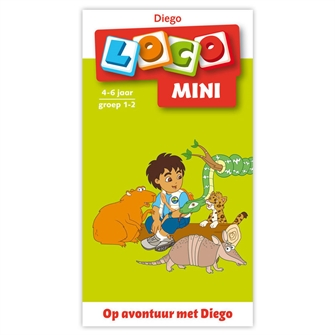 Image of Loco Mini On Adventure with Diego - Group 1-2 (4-6 years) (9789001560997)