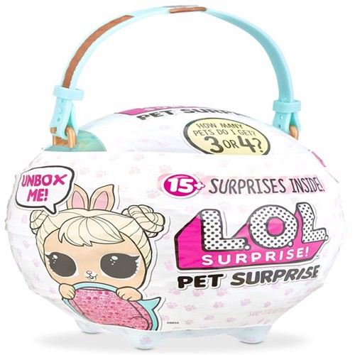 Image of Lol Surprise Pet Surprise Bølge 1 Blå