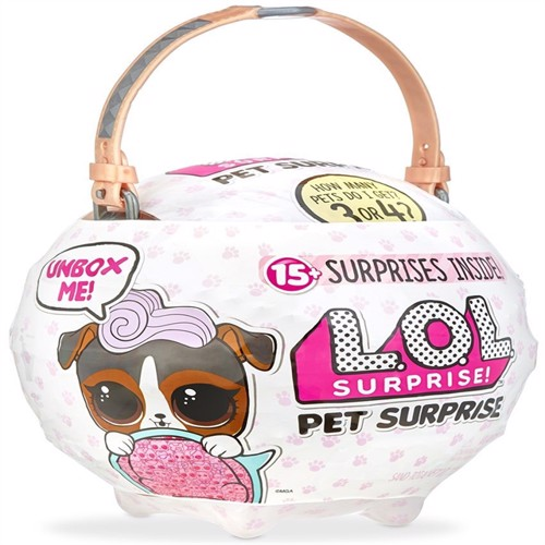 Image of Lol Surprise Pet Surprise Bølge 1 Brun