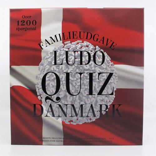 Image of Ludo quiz danmark familie edition