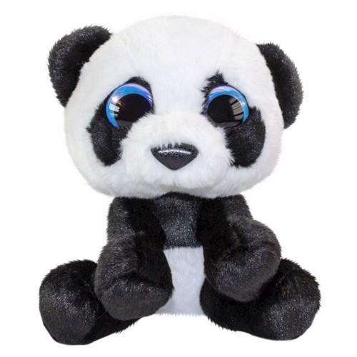 Image of Lumo Panda Stars bamse Panda Pan, 15 cm