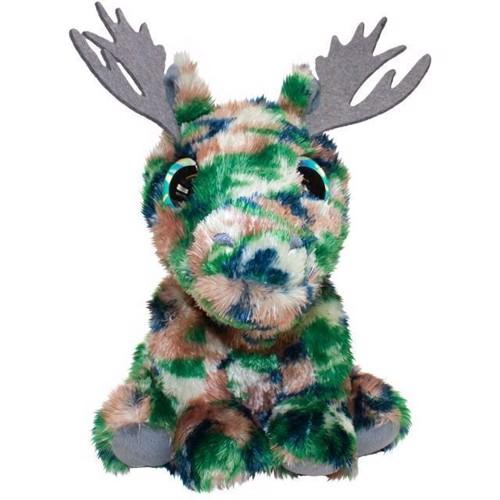 Image of Lumo Stars bamse elgen Helge, 15 cm