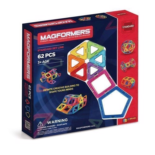 Image of   Magformers, Rainbow 62 dele