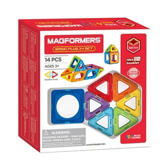 Image of Magformers Basic set Plus, 14 pcs. (8809465534561)