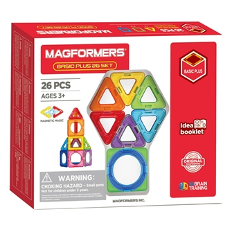Image of Magformers Basic set Plus, 26 pcs. (8809465534578)