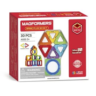 Image of Magformers Basic set Plus, 30 pcs. (8809465534585)