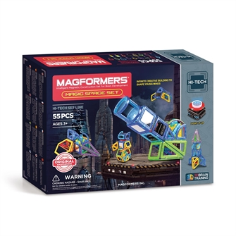 Image of Magformers Magic Space Sæt 55 Dele