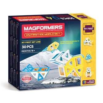 Image of Magformers My First Ice World, 30 dele