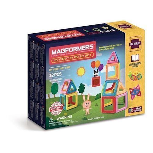Image of Magformers mit første sæt 32 dele (8809465530846)