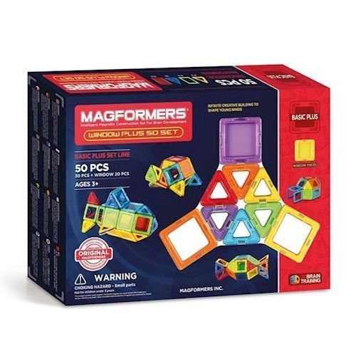 Image of Magformers Window Plus Sæt, 50 Dele