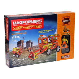 Image of Magformers XL Cruisers Construction, 37dlg. (8809134361023)