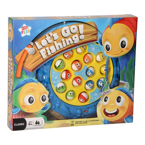 Image of Magnetic Fishing Game - Let's Go Fishing (5012128557057)