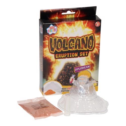 Image of lav din egen, vulkan udbrud