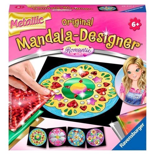 Image of Mandala-Designer - Metallic Romantic