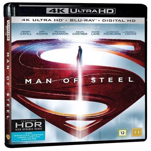 Image of Man Of Steel - 4K Ultra Hd + Blu-Ray (5051895405420)