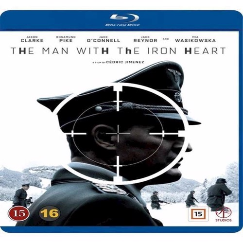 Image of Man with the Iron Heart, The Blu-ray (7333018010826)