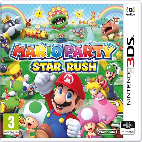 Image of Mario party starrush, 3DS