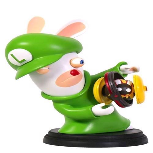 Image of Mario Rabbids Kingdom Battle 6 Inch Luigi Rabbid Figurine - PC (3307216015239)