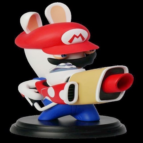 Image of Mario Rabbids Kingdom Battle 6 Inch Mario Rabbid Figurine - PC (3307216015215)