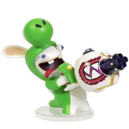 Image of Mario Rabbids Kingdom Battle 6 Inch Yoshi Rabbid Figurine - PC (3307216015246)